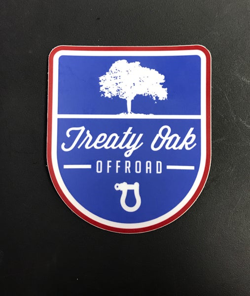 Image of Treaty Oak Offroad Sticker