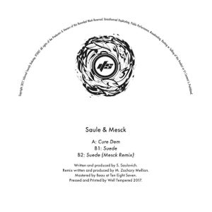 Image of IFS007: Saule - Cure Dem / Suede / Suede (Mesck Remix) + Digital copies