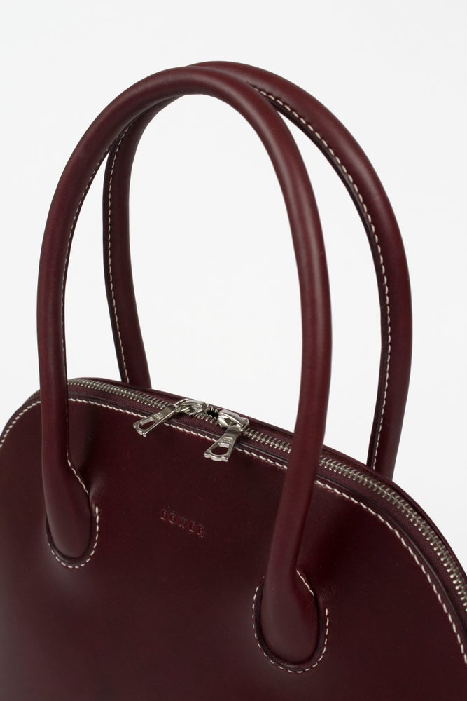 Image of The Alie Handbag Burgundy