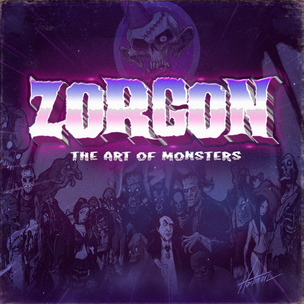 Image of ZORGON - The Art of Monsters CD  price includes shipping