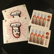 Image of Skratch Bastid #BastidsBBQ Sticker 4-pack