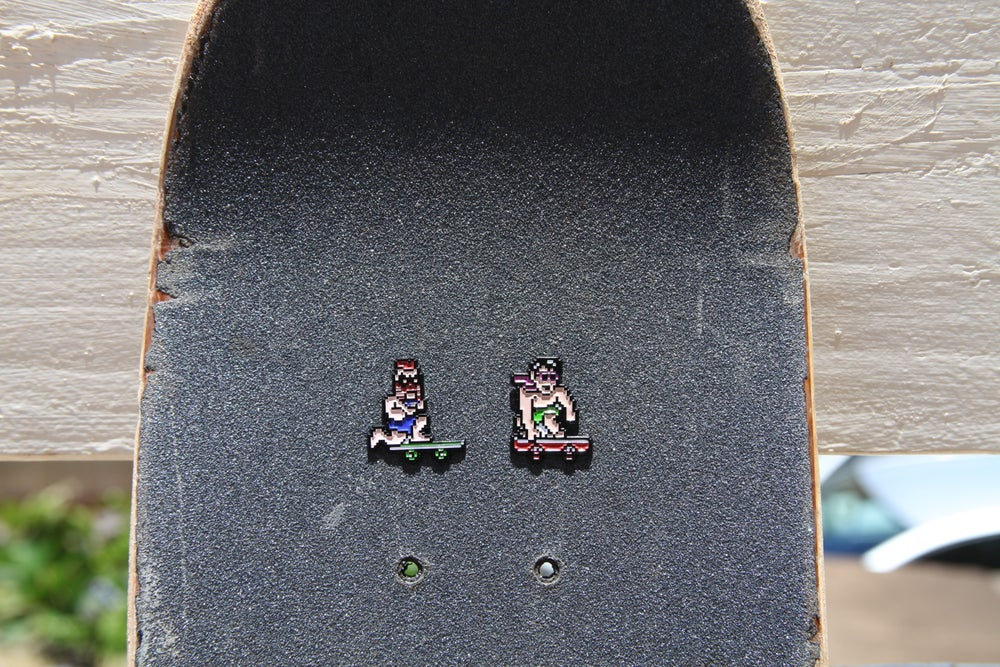 Image of 8bit skater set