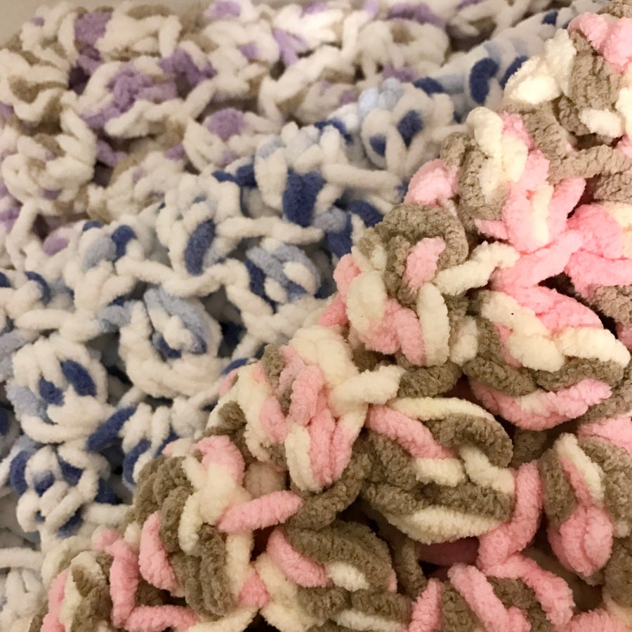 Image of Marshmallow Puff Baby Blanket
