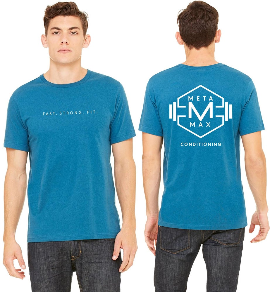 Image of Mens Logo Tee - Blue - Pre Order