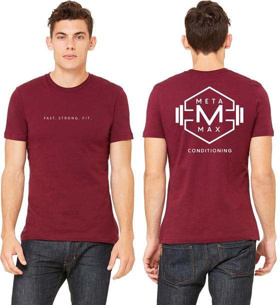 Image of Mens Logo tee - Maroon - Pre Order