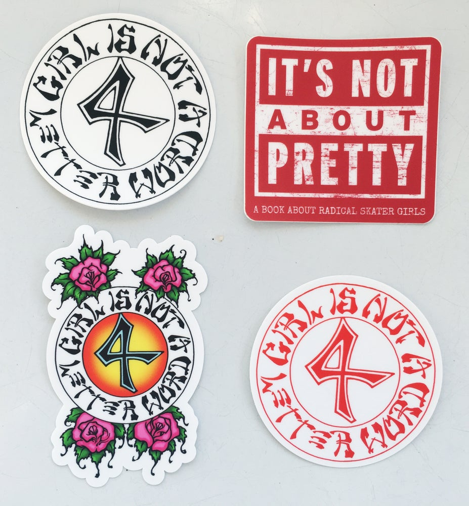 Image of  GN4LW STICKERS, PATCHES & BUTTONS
