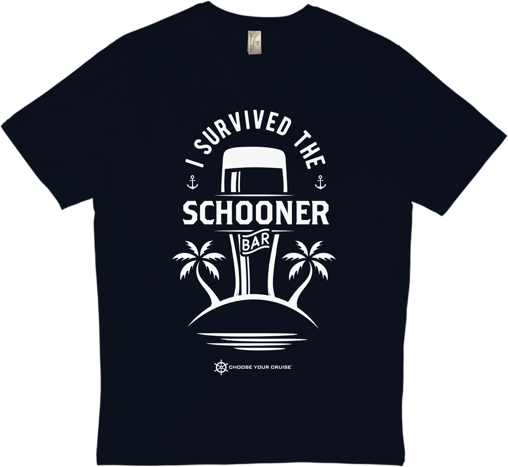 Image of 'I Survived The Schooner Bar' T-Shirt