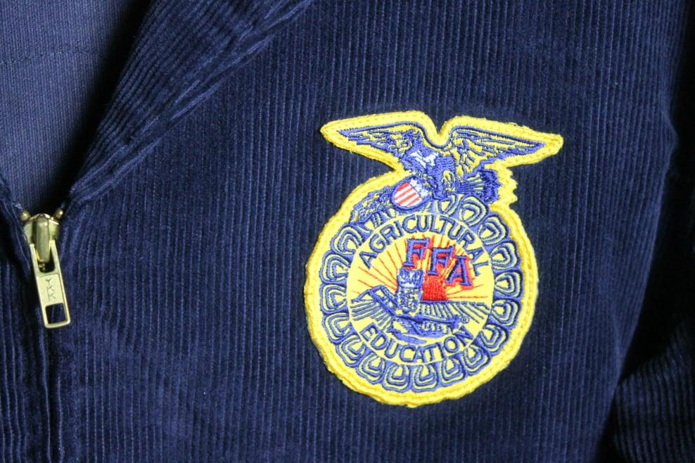 Image of Navy blue Vintage 1960's FFA Texas Jacket