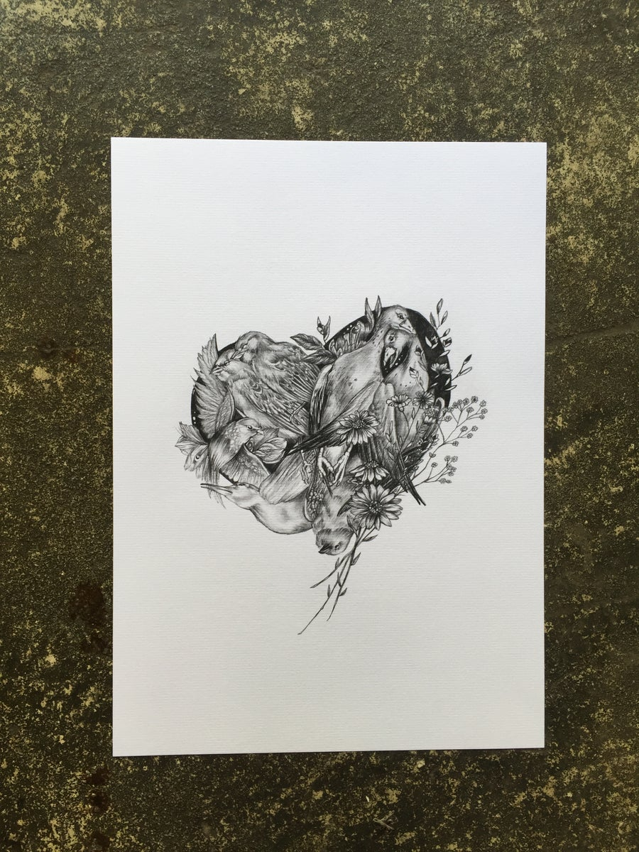Image of Beyond love print