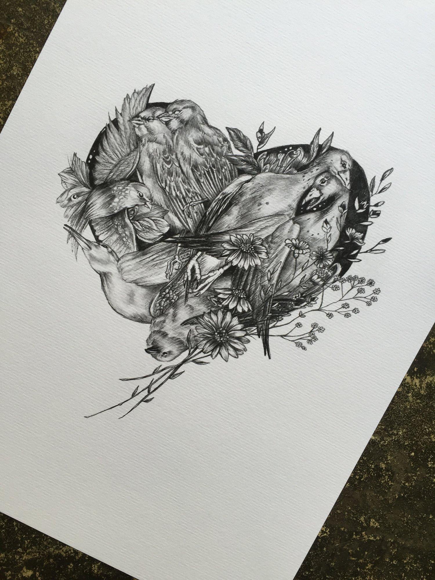 Image of Beyond love print