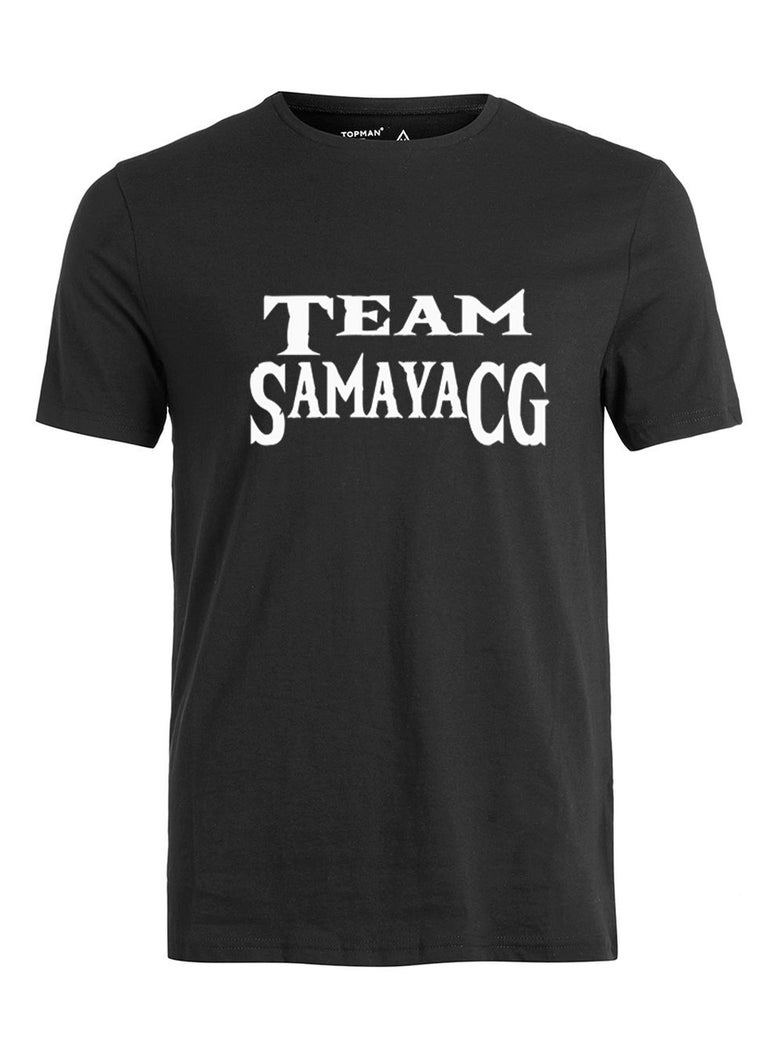 Image of Black Team SamayaCG T-Shirt