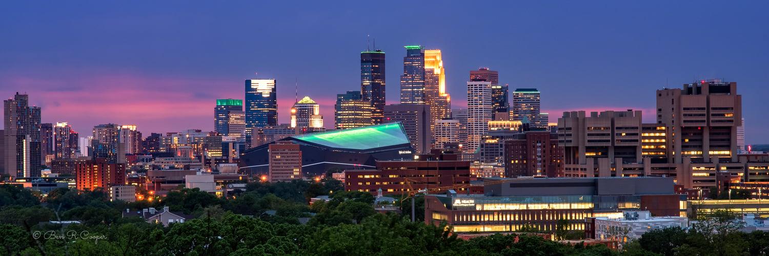 Minneapolis Panorama - 150 Year Star Tribune Anniversary