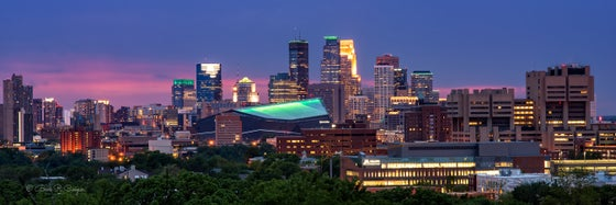 Image of Minneapolis Panorama - 150 Year Star Tribune Anniversary