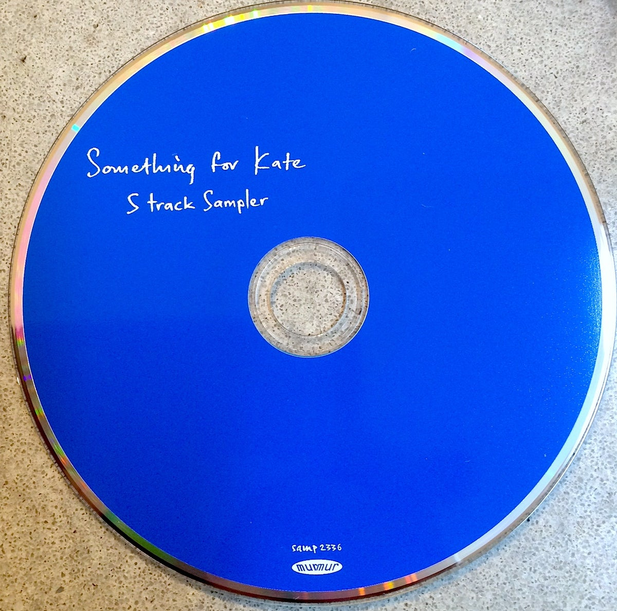 Image of Something for Kate - '5 track Sampler'
