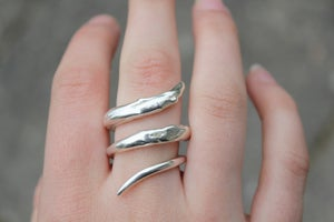 Image of Sterling Silver Twist Ring