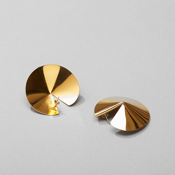 Image of Fortune Cookie earring