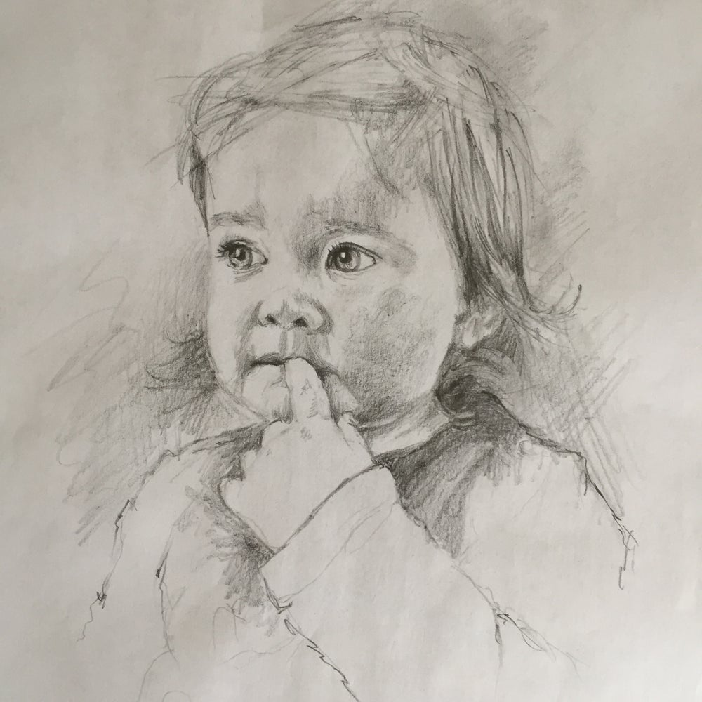 Image of Custom Pencil Portrait