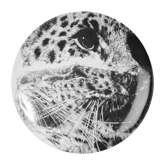 Image of OUR LOSS LIMITED EDITION FINE ENGLISH BONE CHINA COUPE PLATE