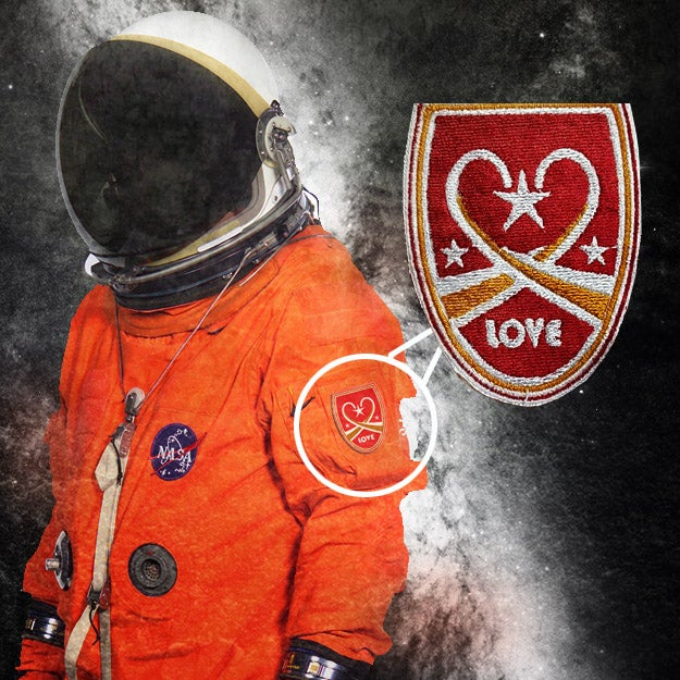 "Image of ""Love"" Space Patch"