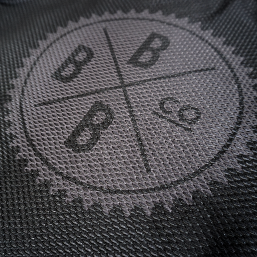 Image of Mesh Base Layer - Black