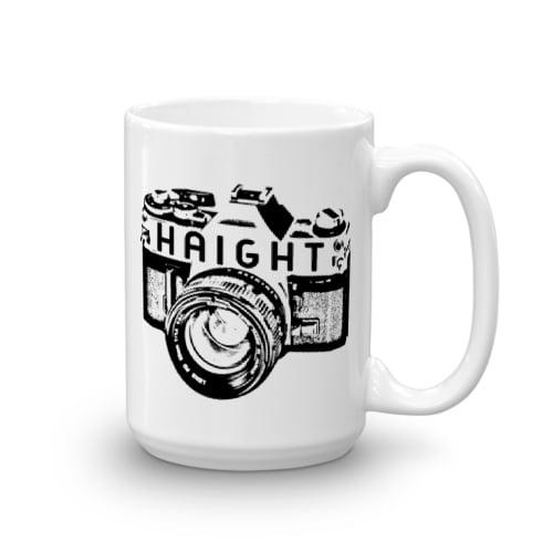 Image of Haight Camera Mug