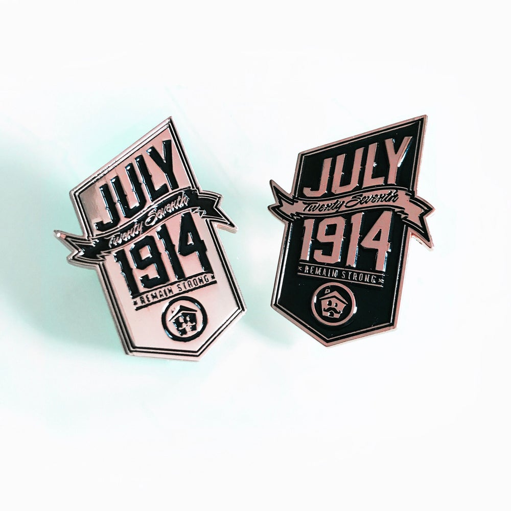Image of 1914 Pin Set (Pair)