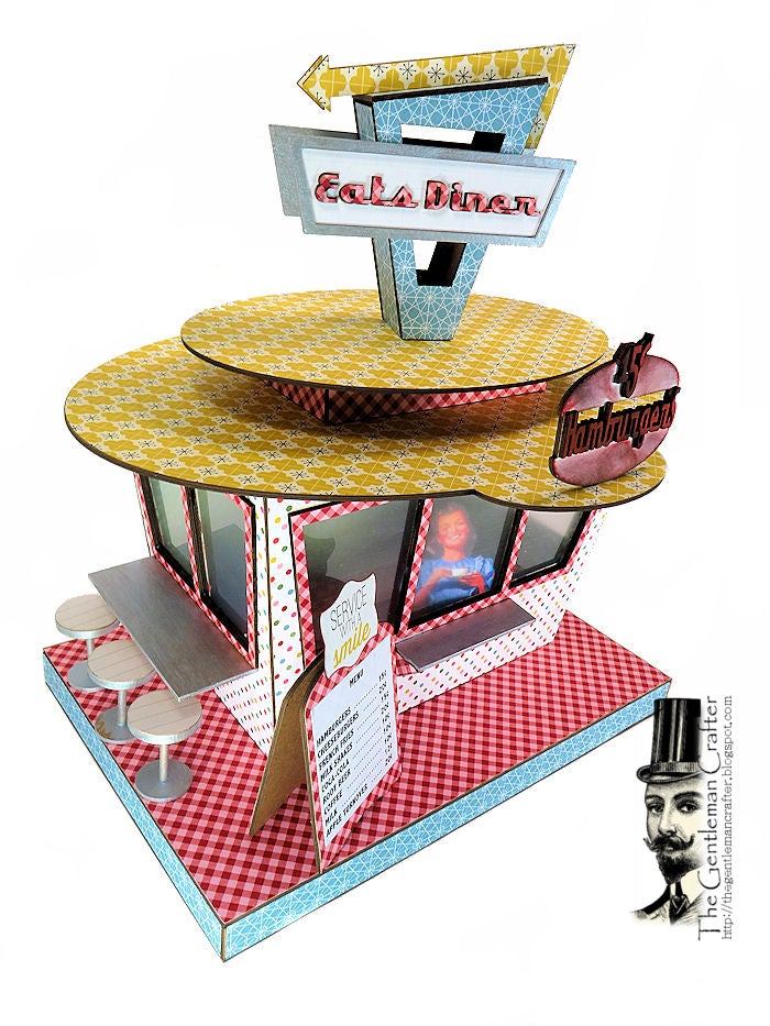 Image of MAY'S Village Collection:  Retro Drive-In Kit NO Paper