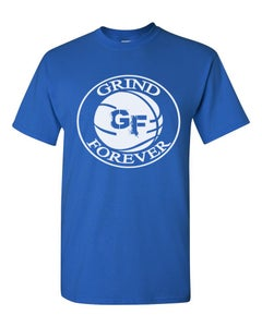 Image of EXCLUSIVE BLUE GRINDFOREVER TEE