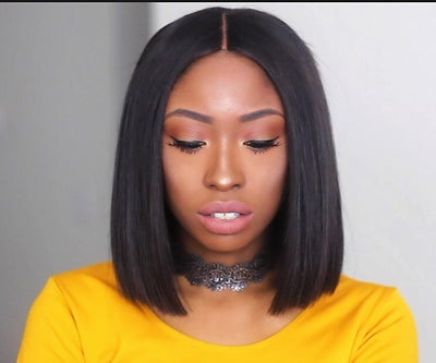 Image of Blunt Cut Bob Lace Closure Unit