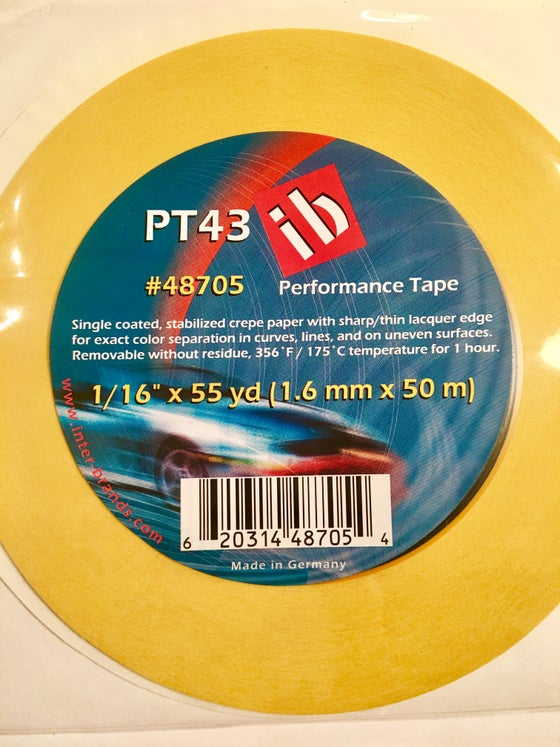 Image of FBS TAPE - CREPE FINELINE 1/16 x 55 yd