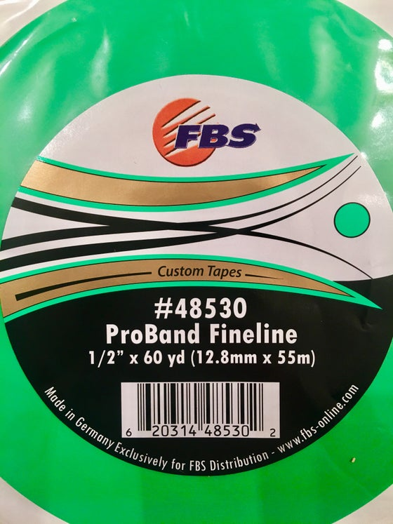 Image of FBS GREEN 1/2 FINELINE TAPE