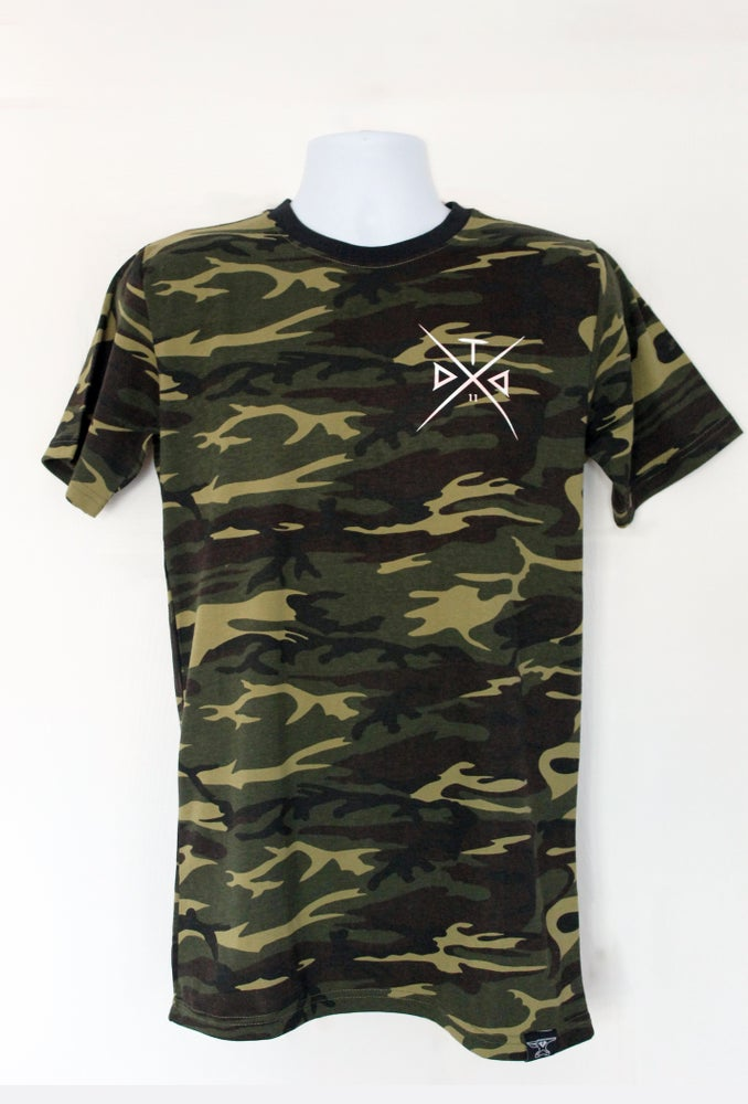 Image of Camo Cross Tshirt