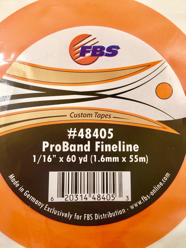 Image of FBS TAPE - ORANGE FINELINE 1/16