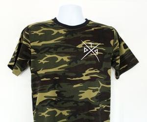 Image of Camo Cross Tshirt