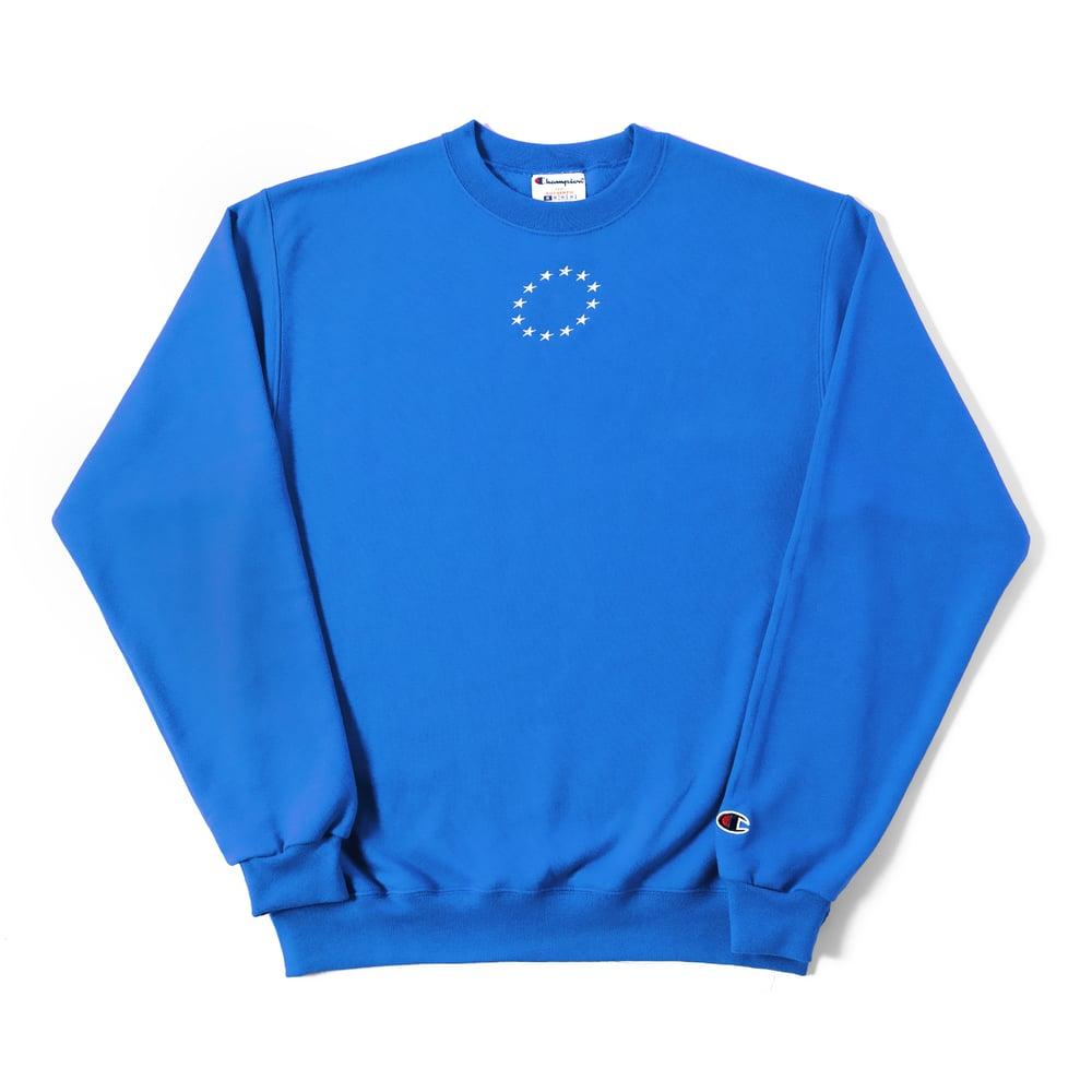 Image of Classic — Sweatshirt — Blue