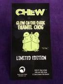 Image 1 of CHEW: Limited Edition Glow-in-the-Dark Enamel Chog!