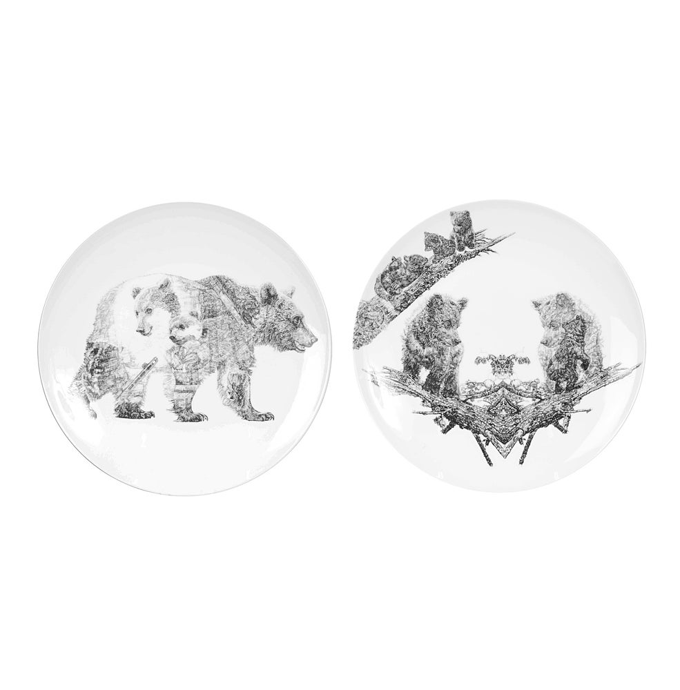 Image of THE ORPHANS LIMITED EDITION FINE ENGLISH BONE CHINA COUPE PLATE