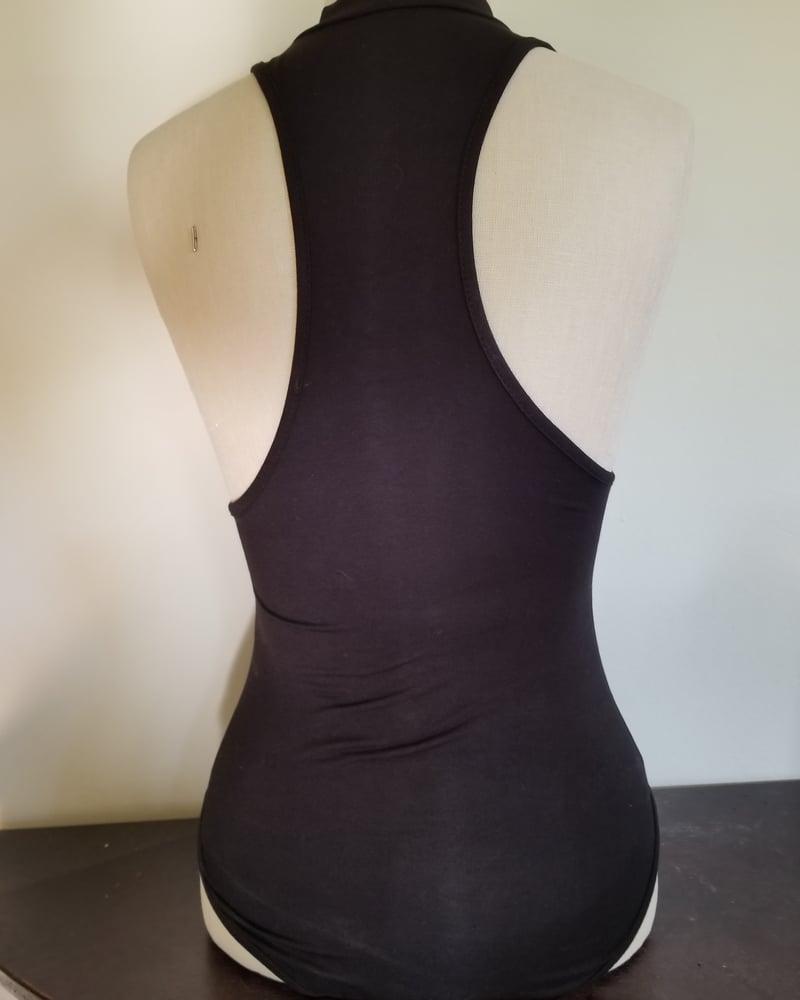 Image of Mock neck boobees bodysuit