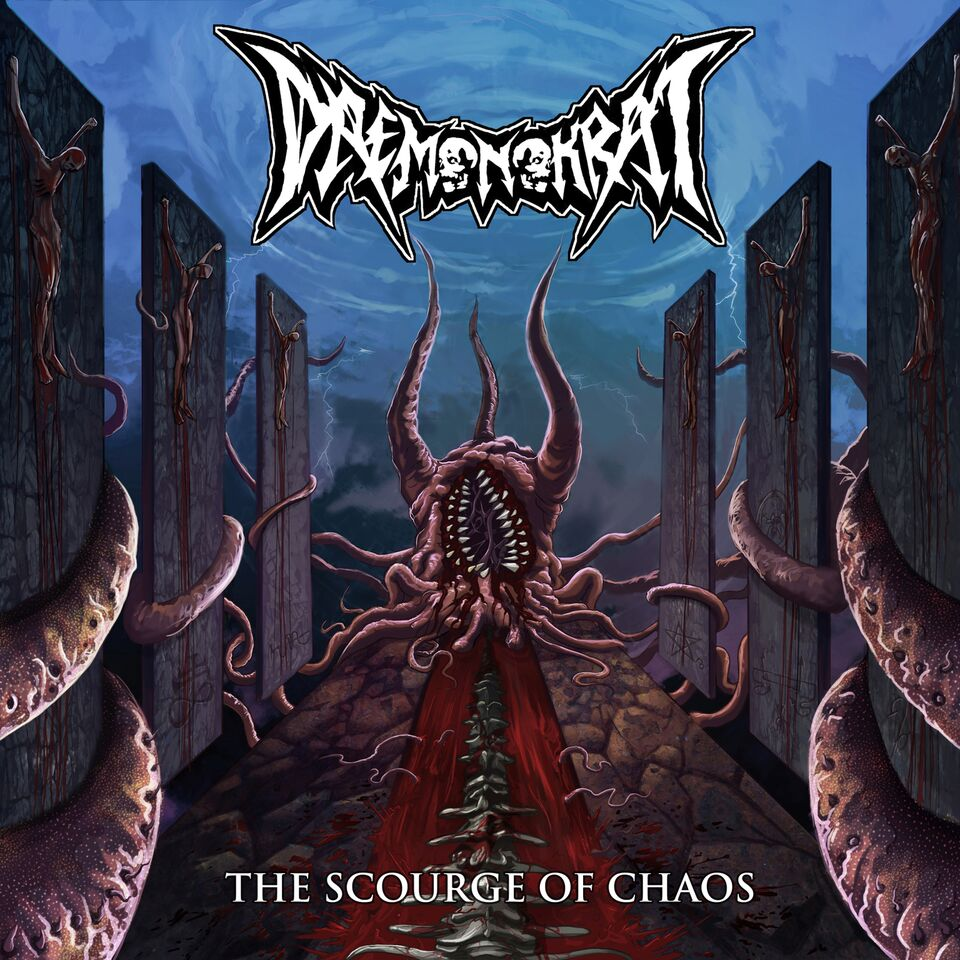 """Image of DAEMONOKRAT """"The Scourge of Chaos"""""""