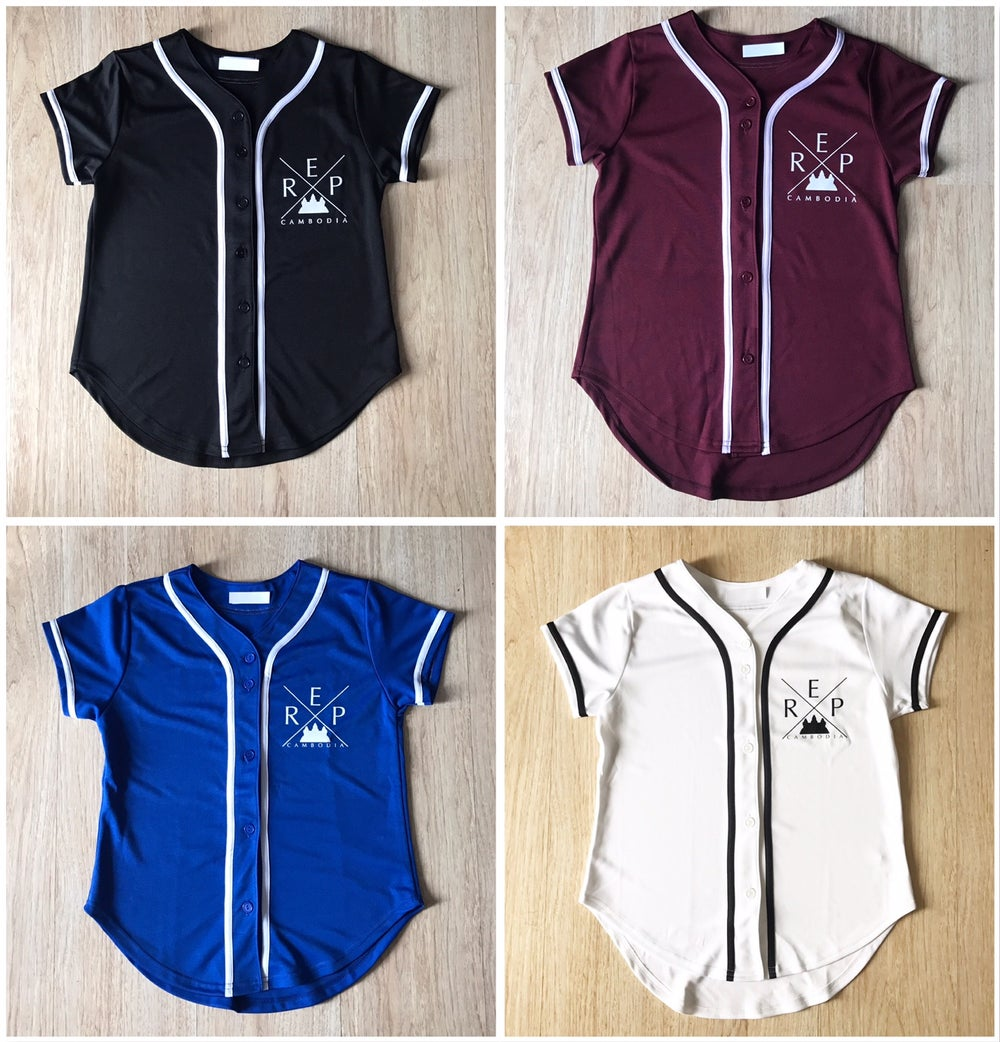 Image of REP CAMBODIA WOMEN X BASEBALL JERSEYS