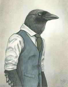 Image of Irving Blackwood 5x7 print