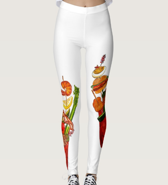 Image of Outrageous Bloody Mary Leggings
