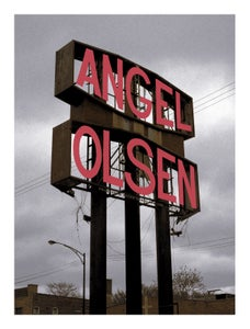 Image of Angel Olsen Primavera Sound 2017 poster