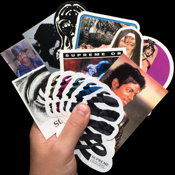 Image of 2017 SS Stickers (M.C. Escher/Mean/Scream/Michael Jackson)