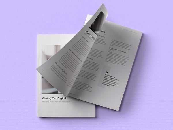Image of Making Tax Digital — Business Owners Resource Print
