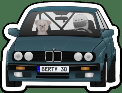 Image of Berty 30 2.0 Sticker