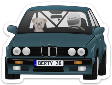 Image of Berty 30 2.0 Sticker
