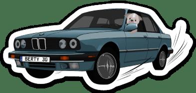 Image of Berty 30 Sticker 1.0
