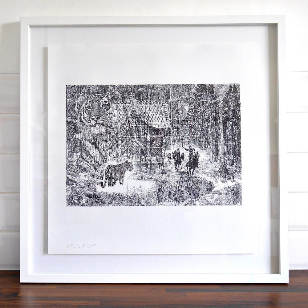 Image of SHH, IT'S A TIGER! LIMITED EDITION PRINT