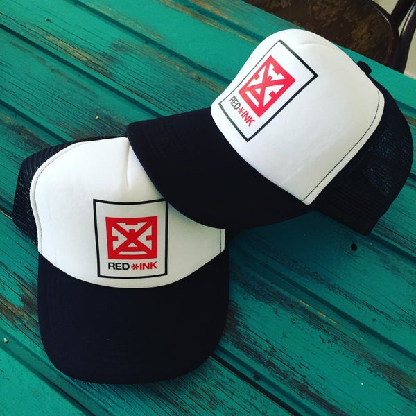 Image of GORRA TRUCKER LOGO RED*INK